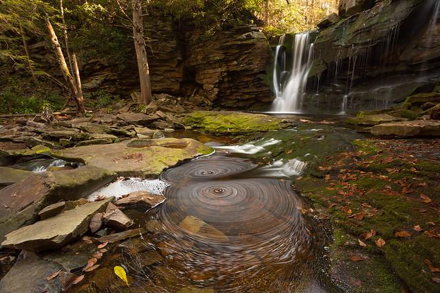 Spin at Elakala Falls