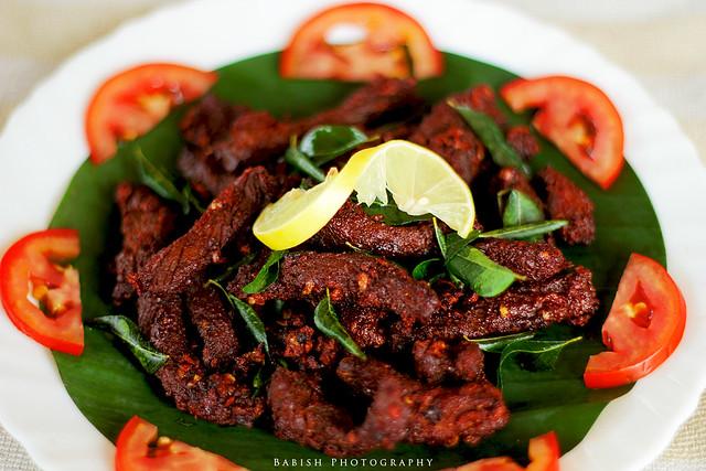 Kerala Cuisine - Beef Dry Fry