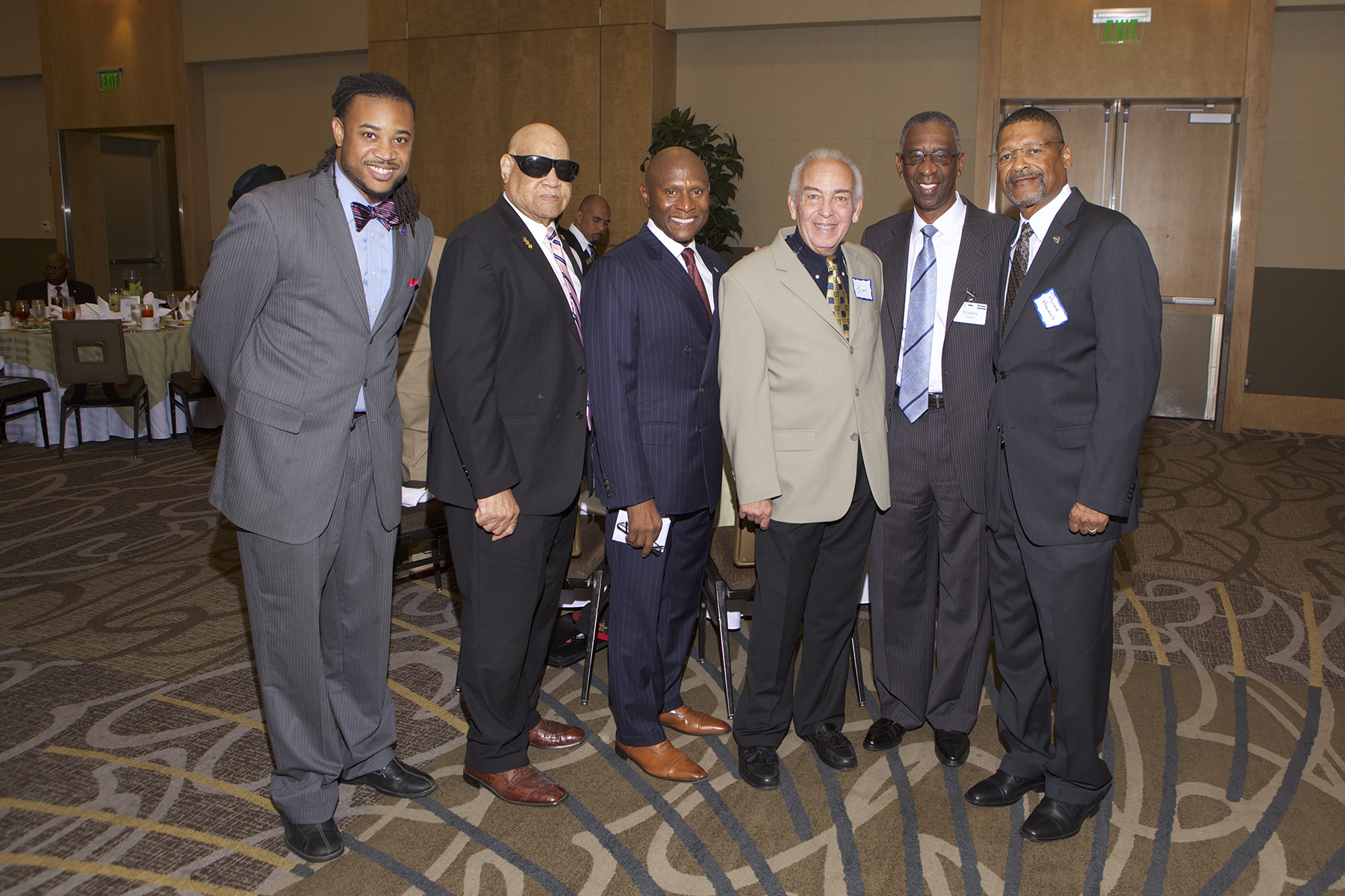 Kendrick Tillman, Dr. Mel Butler, Robert Wallace, Jim McLean, Stanley Tucker (PRT - Meridian Management Group), and Prince Howard