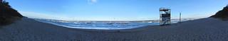 Nad Bałtykiem - plaża w Pobierowie