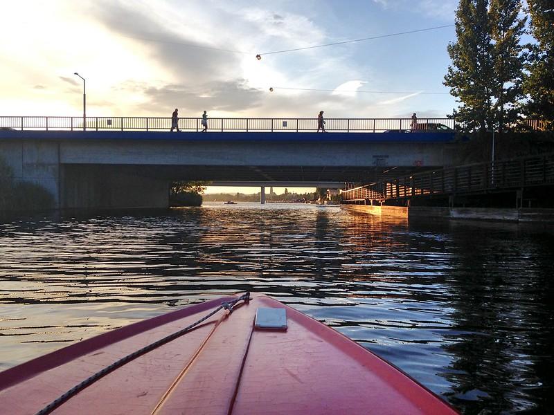 Alte Donau bridge