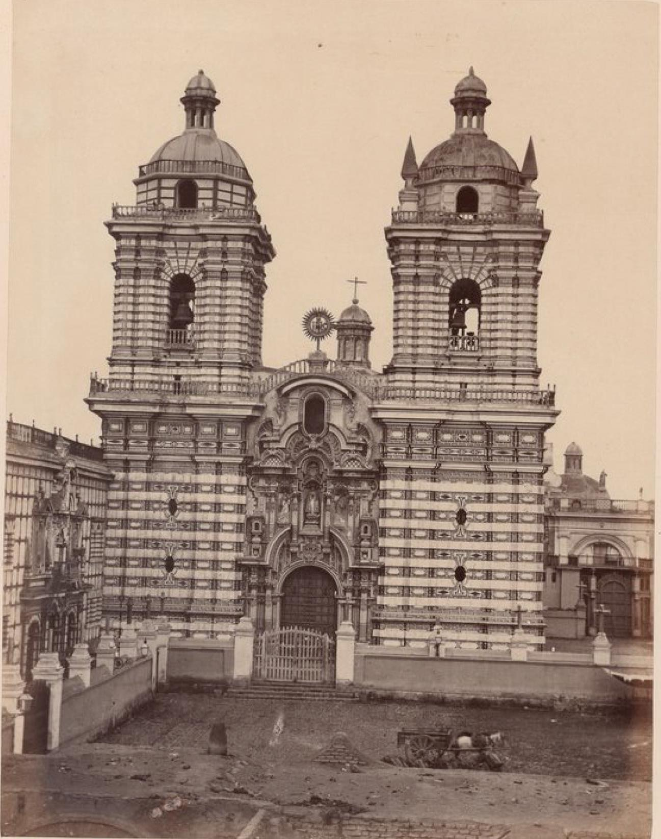Лима. Церковь святого Франциска