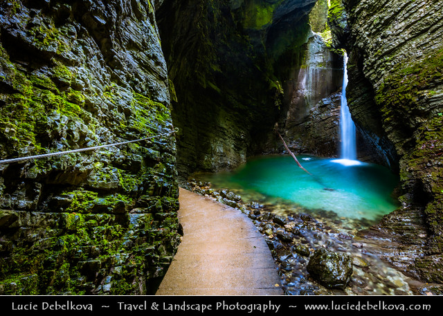 Slovenia - Julian Alps - Slap Kozjak - Kozjak waterfall