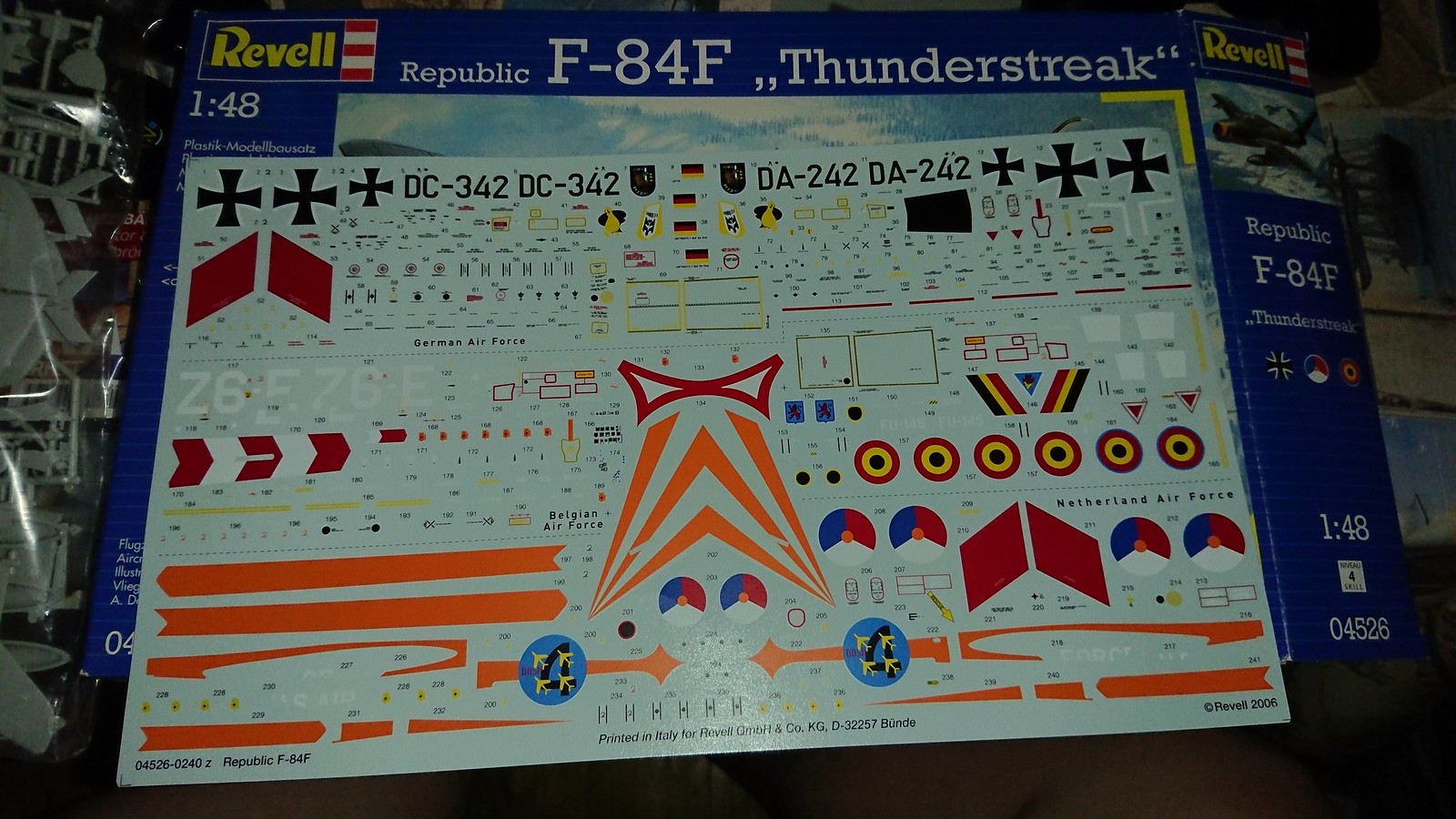 Bundesluftwaffe F-84F JaboG 33 - Revell 1/48 28769240117_1177eb3c2c_h