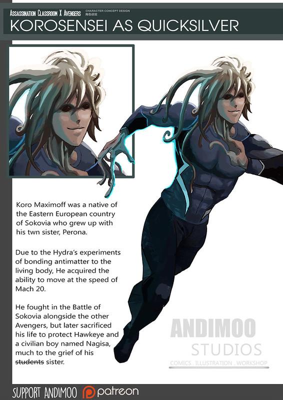 Animes em Vingadores