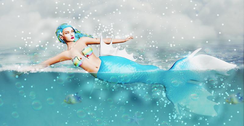 Underwater...