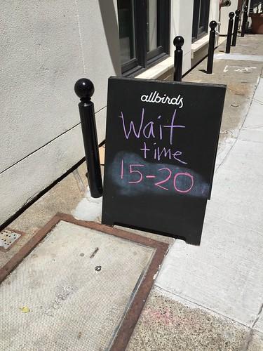 Wait time: 15-20