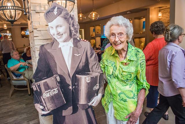 Sybil Peacock Harmon, 102-year-old former flight attendant