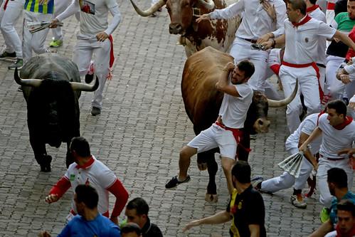 San Fermín 2018 - Encierro dia 14