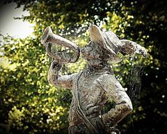 Jan Klaasen de trompetter in Woudrichem by joeke pieters