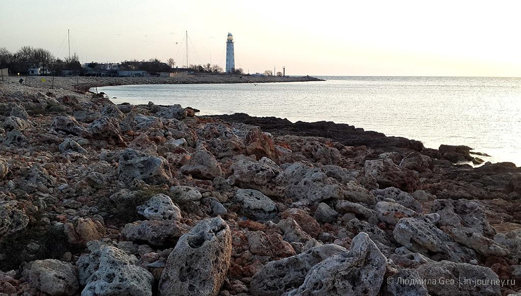 маяк на мысе Херсонес