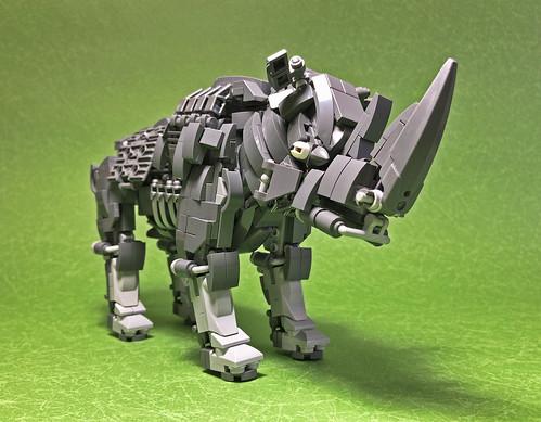 LEGO Mecha Rhinoceros-04