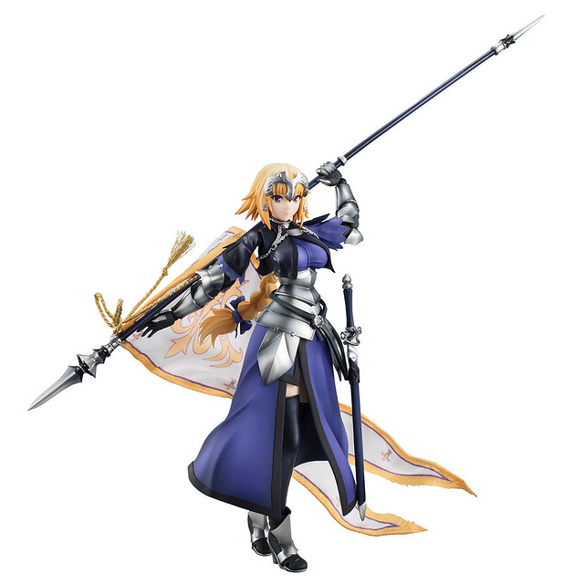 高水準的造型塗裝與可動兼具!VARIABLE ACTION HEROES DX《Fate/Apocrypha》Ruler/聖女貞德(ルーラー/ジャンヌ・ダルク)