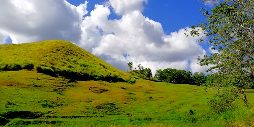 place landscape green grass mountain slopes racs0706 racs0607 cebuano nature bohol alicia philippines vacation privince