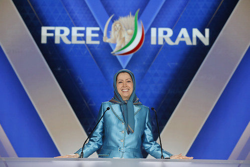 Maryam Rajavi, At the Resistance's Grand Gathering in Paris , June 30, 2018