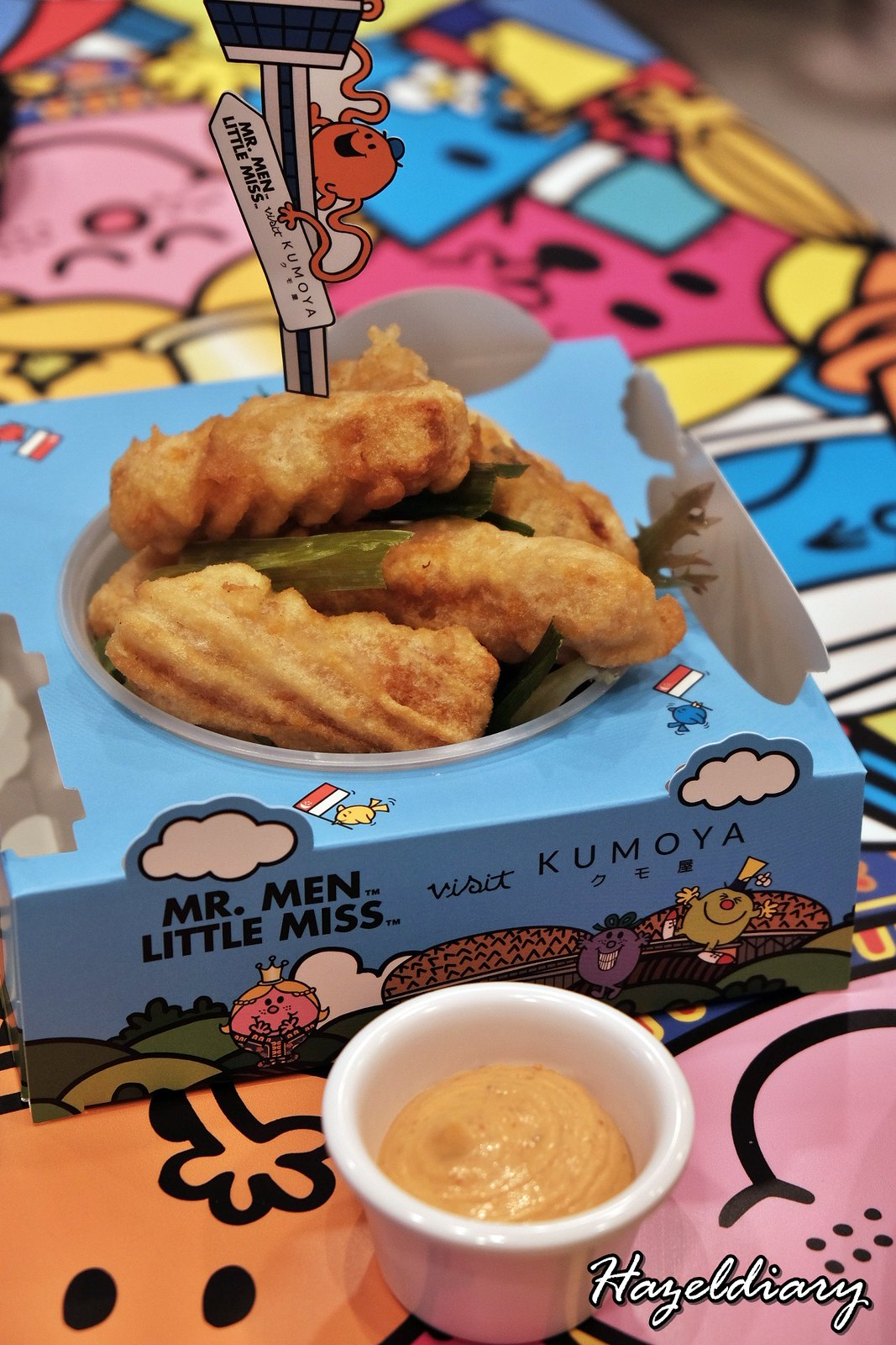 Kumoya Mr Men Little Miss-Tempura Mackerel Otah with Sambal Mayo