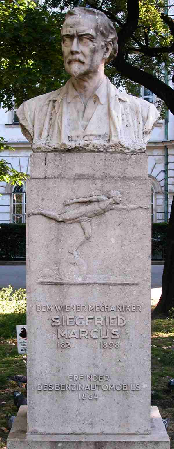 Monument at Vienna Technical Museum