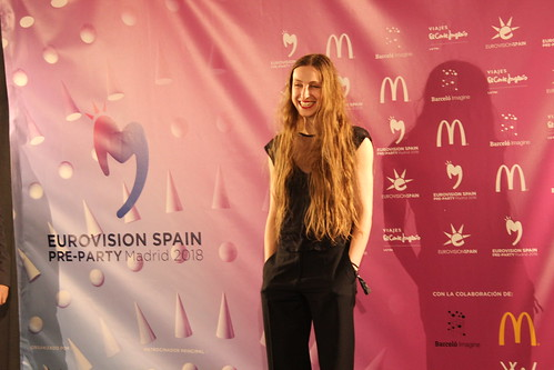 Press event at Eurovision-Spain Pre Party 2018