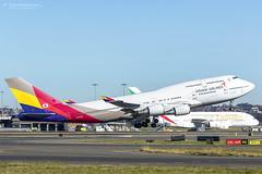 Asiana 747 OZ601