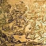 Giulio Romano, Ercole che strangola il Leone,  Stampe 1974, 25 - https://www.flickr.com/people/35155107@N08/
