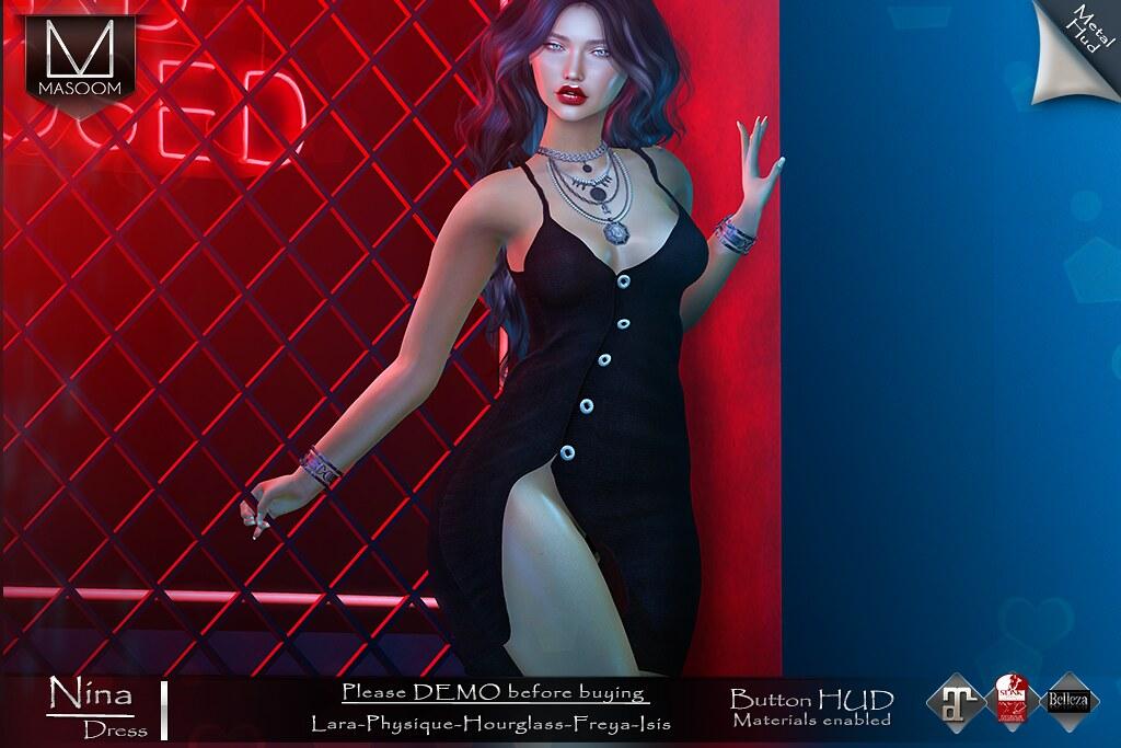 [[ Masoom ]] Nina dress for Go! - TeleportHub.com Live!