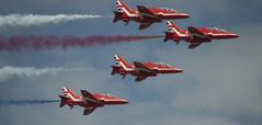 RAF Red Arrows Aerobatic Team (66)