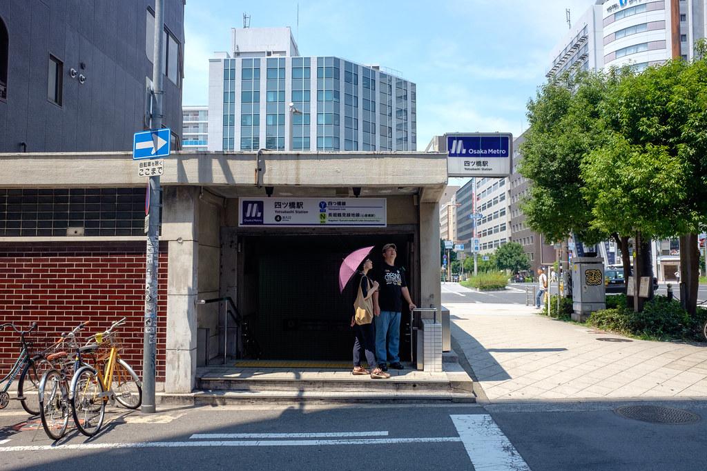 四ツ橋駅 2018/07/16 X7000929
