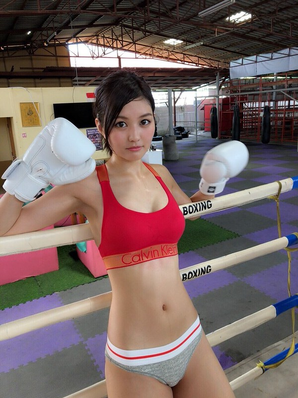 林ゆめ ボクシング 画像