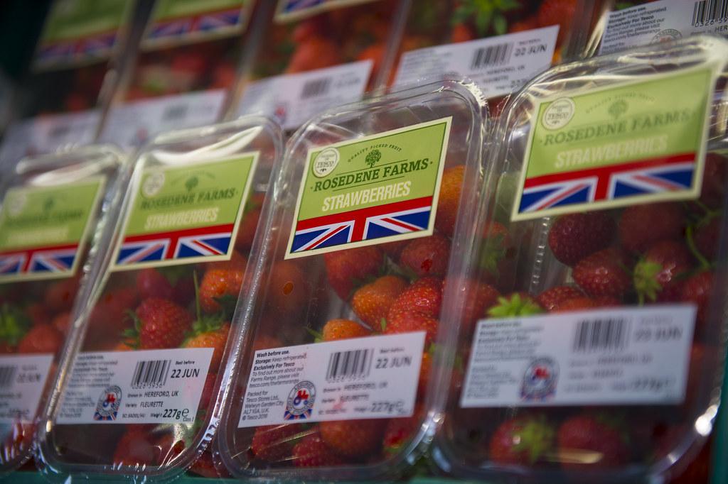 Tesco - Rosedene Farm - British Strawberries
