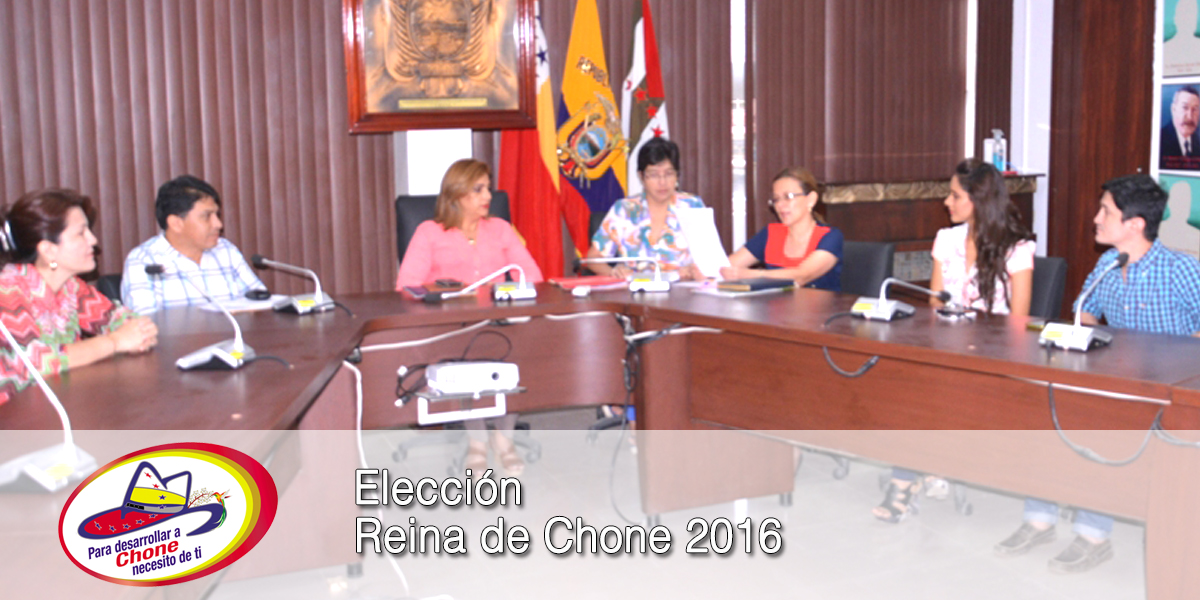 Elección Reina de Chone 2016