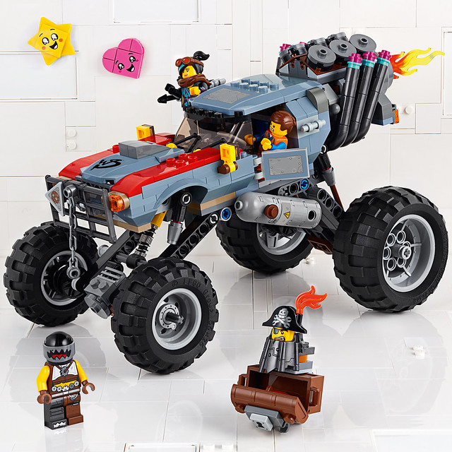 可以讓想像力無限延伸的超讚設計!! LEGO 70827、70829、70830《樂高玩電影2》系列盒組 The LEGO Movie 2 Sets