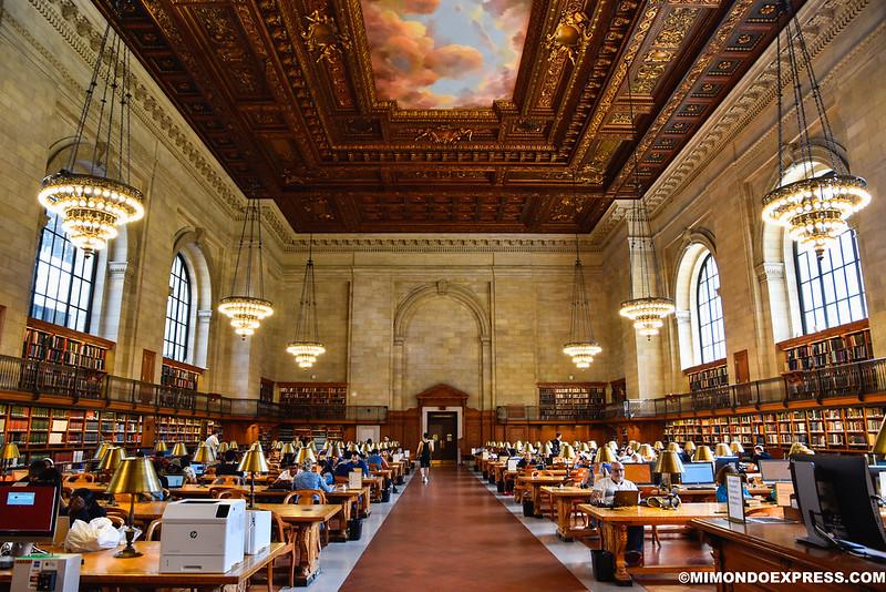 Biblioteca Pública Nueva York