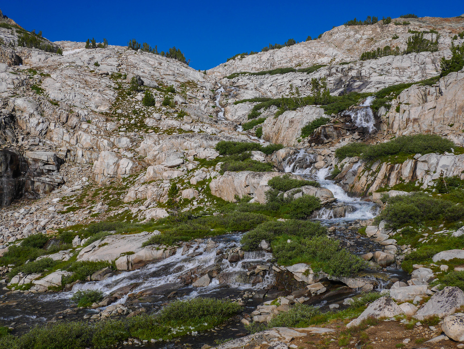 More tributaries join the Middle Fork