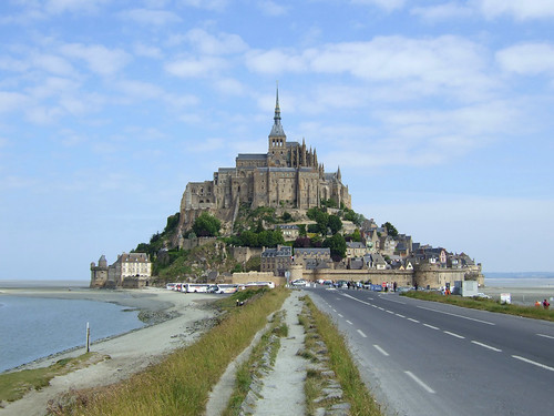beautiful island in Normandy