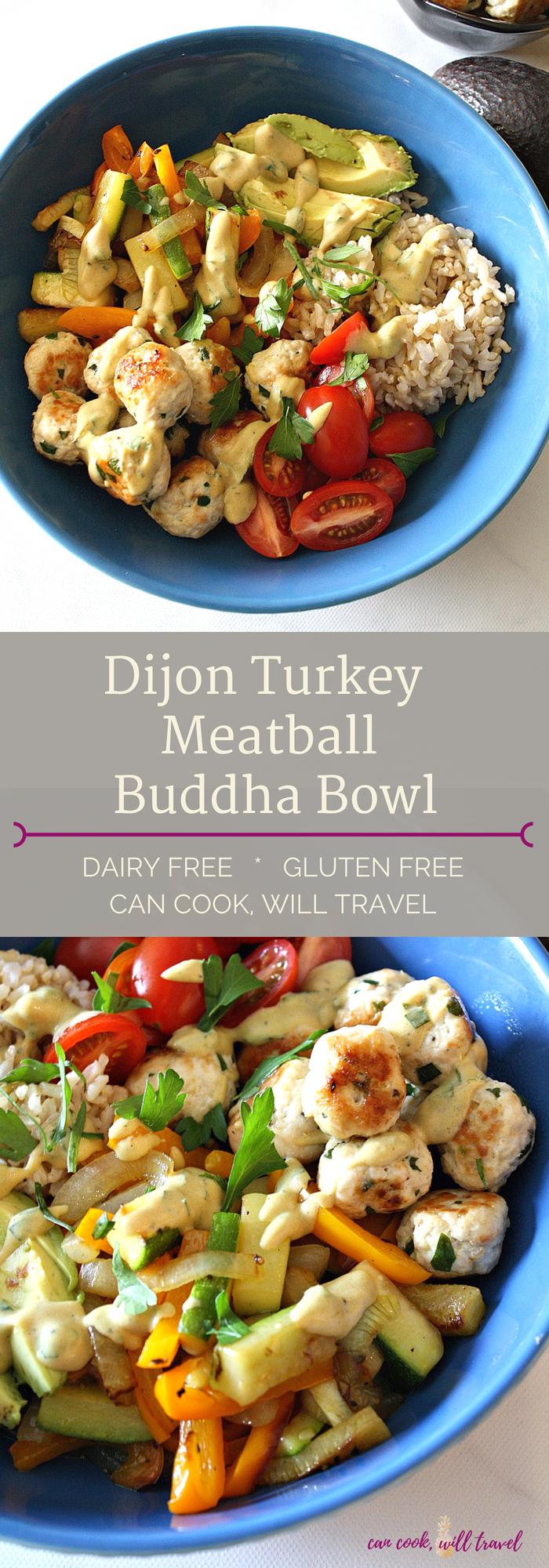 Dijon Turkey Meatball Buddha Bowl_Collage1