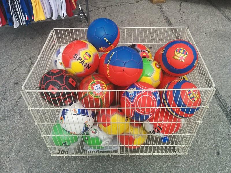 Shopping for the World Cup (2) #toronto #galleriamall #wallaceemerson #dufferinstreet #dupontstreet #shopping #sports #soccer #football #balls
