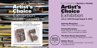 2018 PSA Artists Choice Exhibition