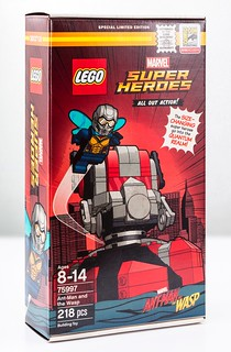 LEGO Unveils 75997 Ant-Man and the Wasp (SDCC 2018 Exclusive)!