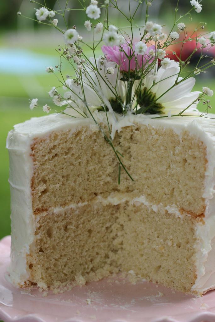 gluten and dairy free vanilla cake