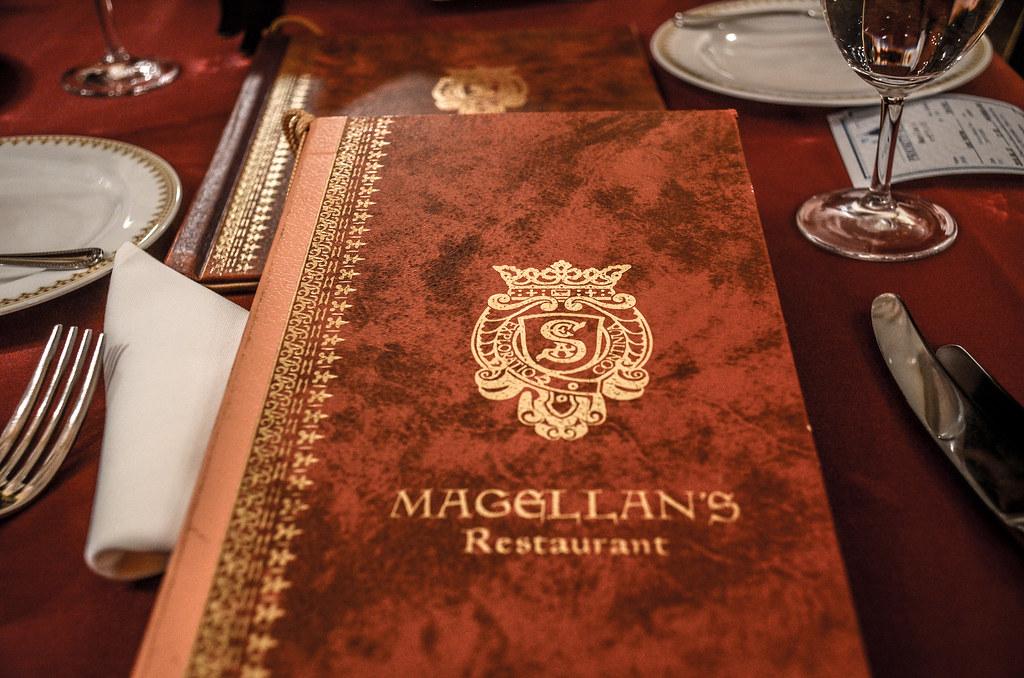 Magellan's menu TDS