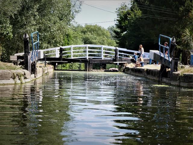 Paper Mill Lock, Essex.