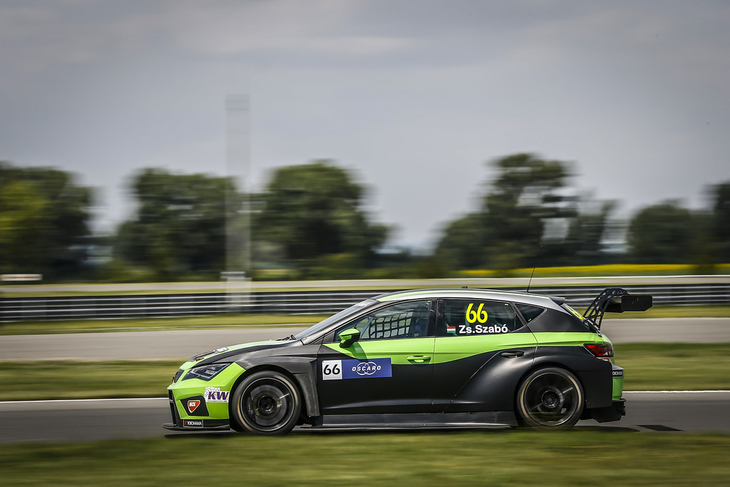 66 ZSABO Zsolt David, (hun), Seat Cupra TCR team Zengo Motorsport, action during the 2018 FIA WTCR World Touring Car cup race of Slovakia at Slovakia Ring, from july 13 to 15 - Photo Jean Michel Le Meur / DPPI