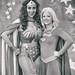 Wonder Woman and Supergirl, Silicon Valley Comic Con, 2016 by Thomas Hawk