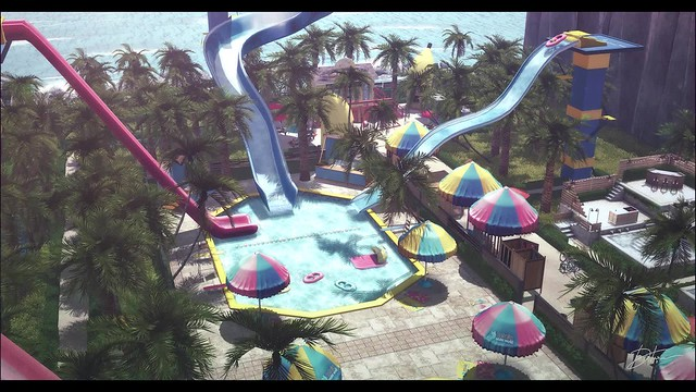The Flip Second Life Water Park #theflipoff
