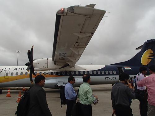 印度 国内飛機班航的状況 - naniyuutorimannen - 您说什么!