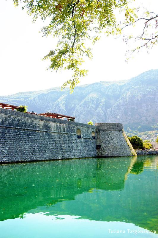 Которская городская стена и бастион Цитадель