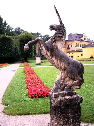 The Hellbrunn Castle Unicorn