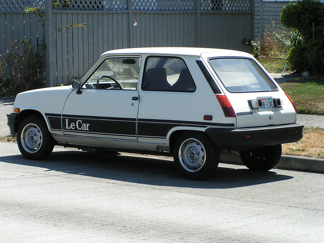 Renault Le Car, Seattle, 08/08/06