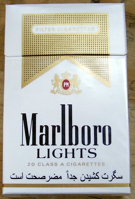 Marlboro Lights Cigarettes in Afghanistan | Flickr - Photo ...