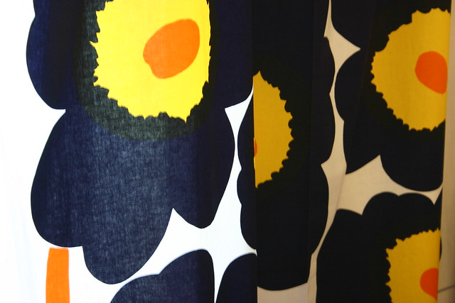 El patrón de flores de Marimekko